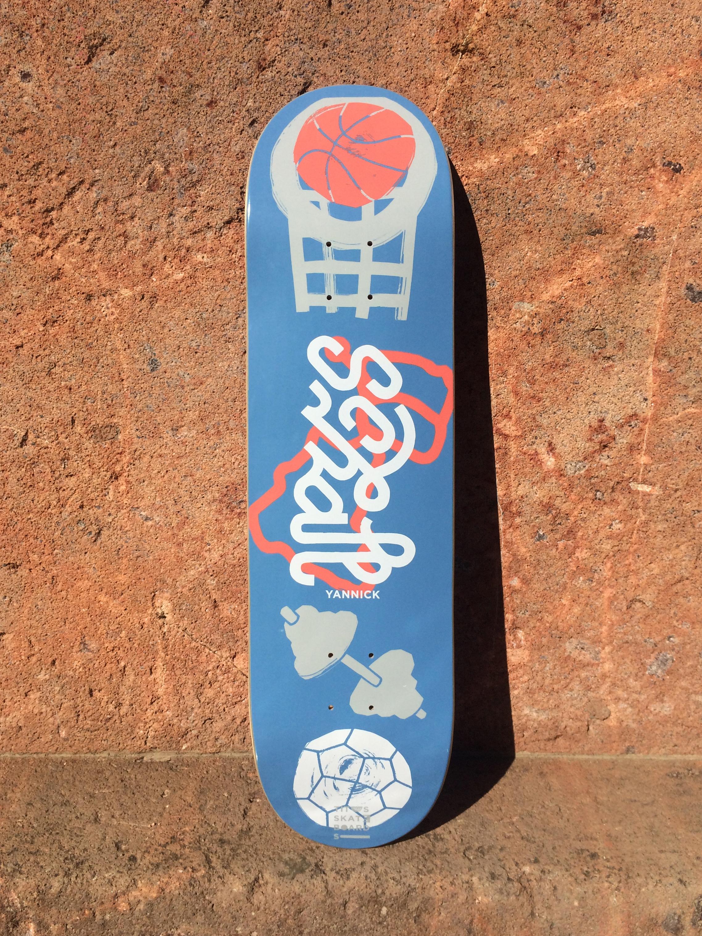 MARTIN SCHUMANN Titus Skateboards – Pro Series
